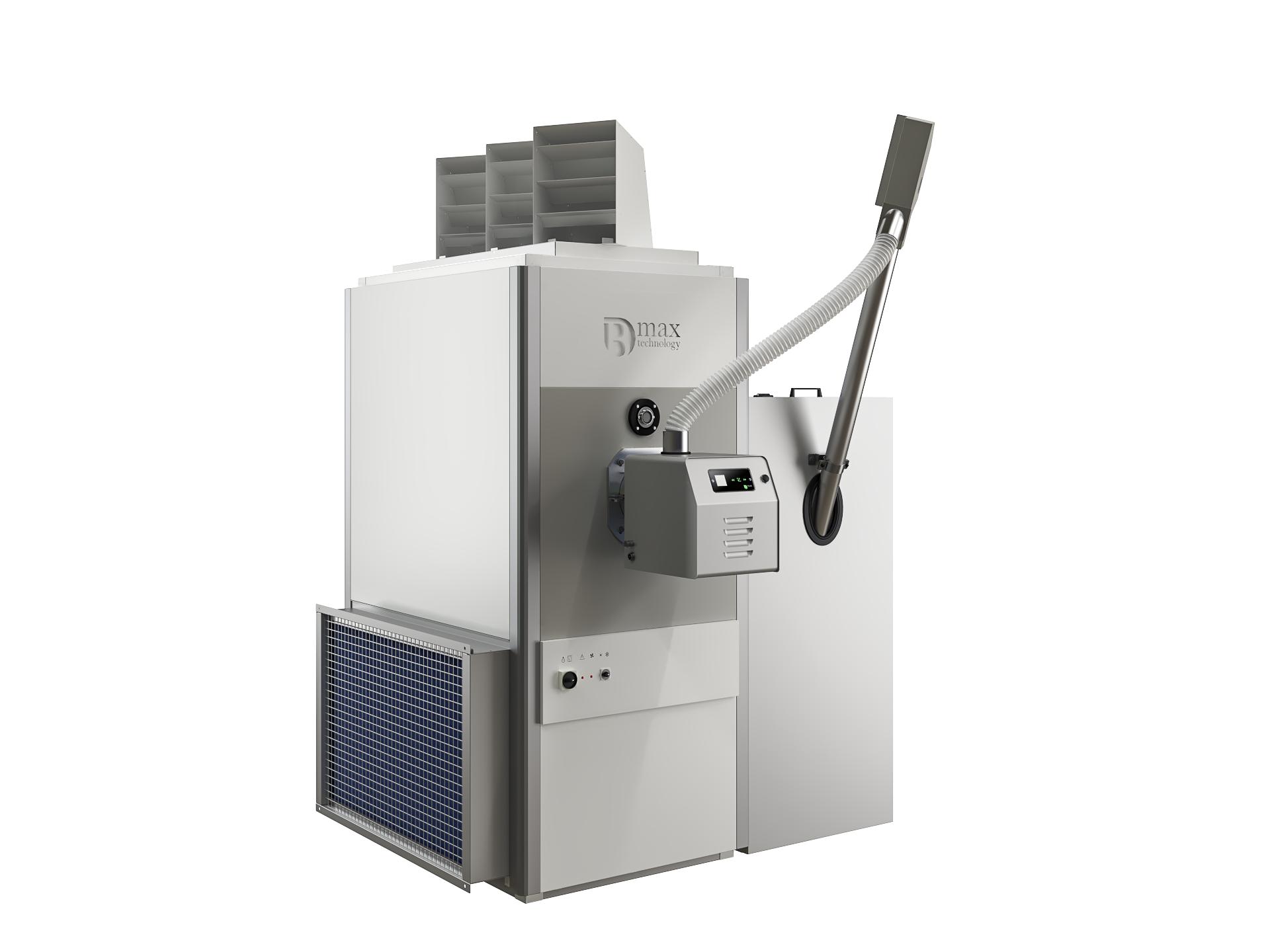 Generadores de aire caliente de pellets